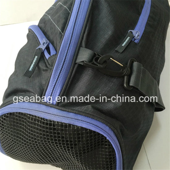 a2a4da6b86 High Quality Nylon Travel Bags Sports Luggage Duffel Saddle Bags (GB  10002-6)