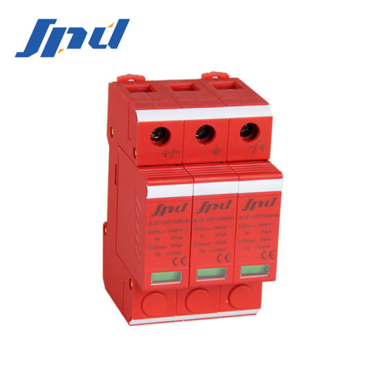 PV Application Solar 3p Surge Protector Jlsp-Gd1500/40/3p