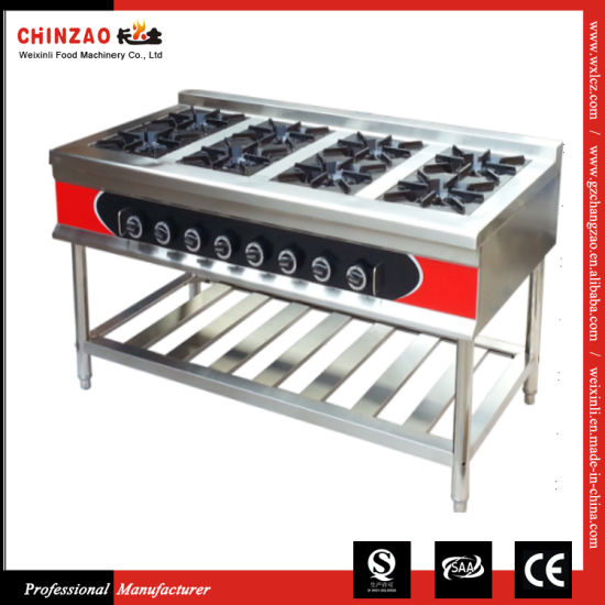 Commercial Standing Stainless Steel Gas Burner Gzl-8W