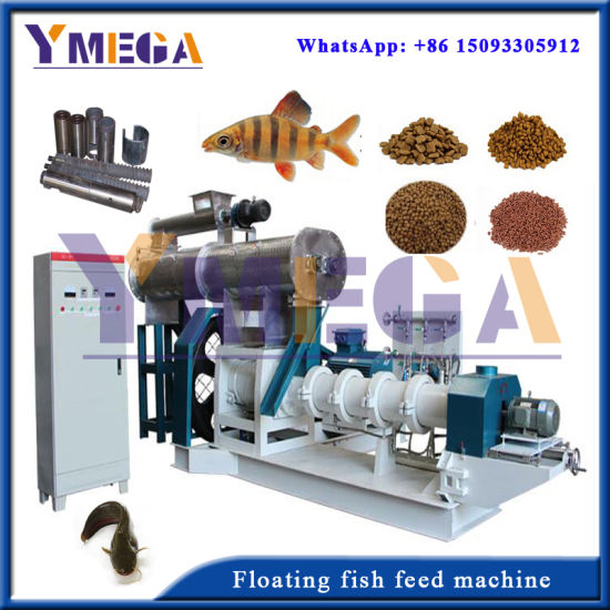Aquaculture Feed Industry Processing Fish Shrimp Feed Float Machine pictures & photos
