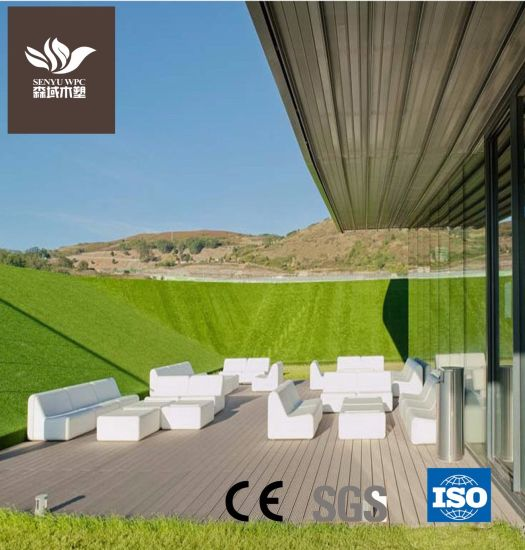 Wood Plastic Composite WPC Material Outdoor Decking