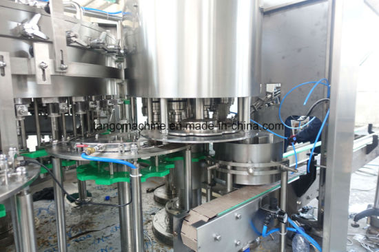Automatic Carbonated Beverage Filling Packaging Equipment for Plastic Glass Bottle pictures & photos