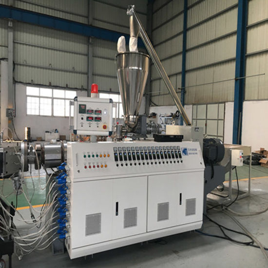 Double Outlet PVC Pipe Production Machine