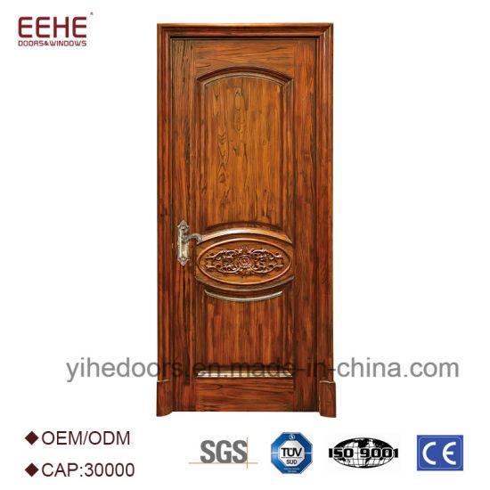 China Modern Laminated Wooden Panel Door Factory Price - China ...