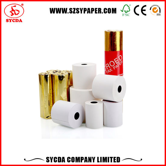 Factory Direct Sales Cash Register Paper Thermal Paper Rolls pictures & photos