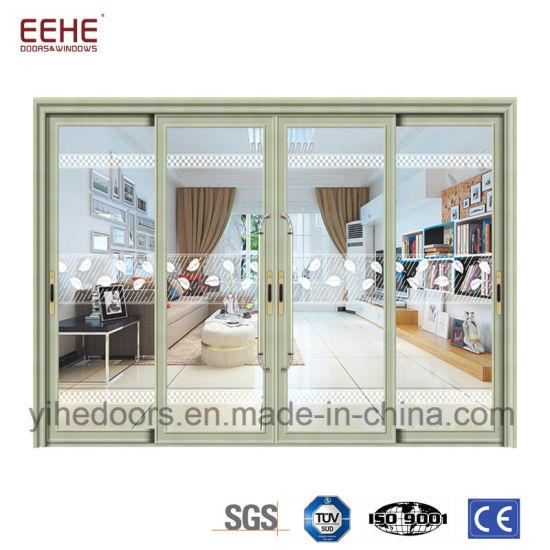 China Commercial Aluminum Comfort Room Door Design Frame Glass Door ...