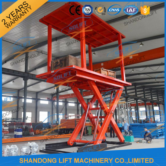 China Customized Hydraulic for Vehicles Floor Plate Lift Hydraulic Car Lifts