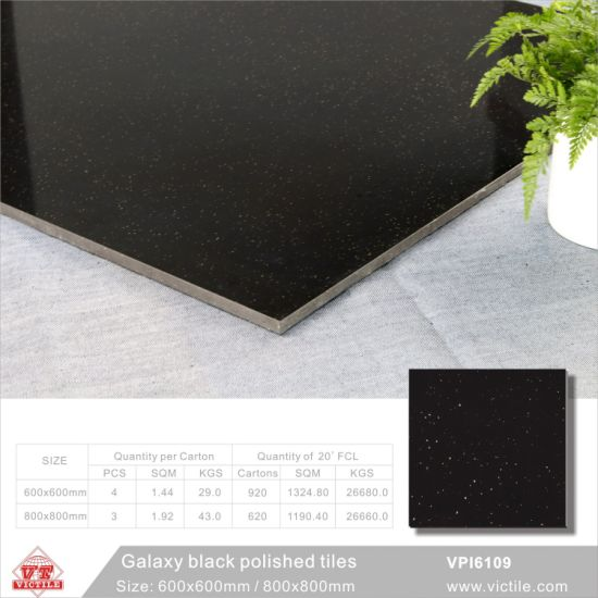 China pure black floor tiles 600x600mm 24x24 super white pure black floor tiles 600x600mm 24x24 super white building material decoration porcelain polished ceramic flooring tiles vpi6109 600x1200mm ppazfo