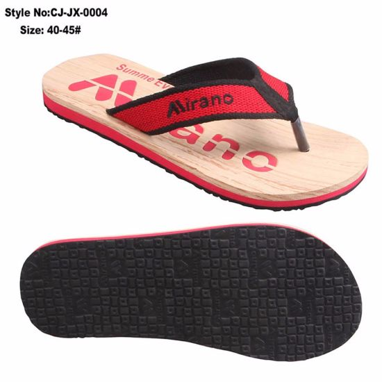 ae03d221da54 China Wide Strap Flip Flop for Man with Polyester Fabric - China ...