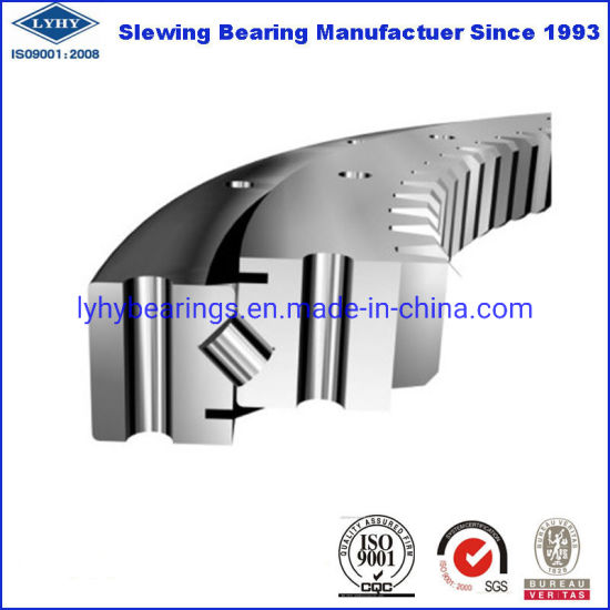 Single Row Crossed Roller Slewing Ring Bearing Turntables (XSA140414N) pictures & photos