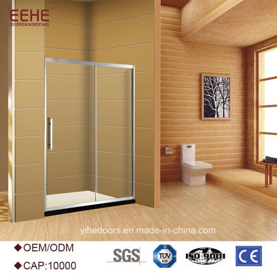 China Free Standing Glass Circular Shower Enclosure - China Shower ...