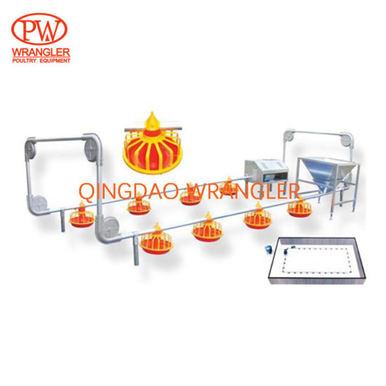 Automatic Poultry Breeder Equipment Chain/ Pan Feeding System