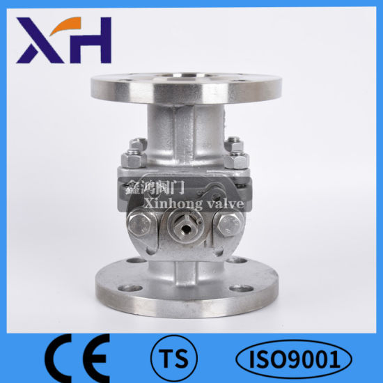 """CF8/CF8m Stainless Steel Hight Quality 2PC Flanged Ball Valve 1-1/4"""" Class 150 ANSI"""
