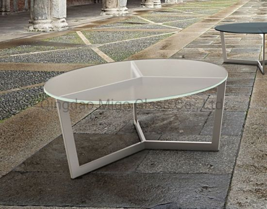 China Glass Table Price 10mm Acid Etched Glass Top China Glass