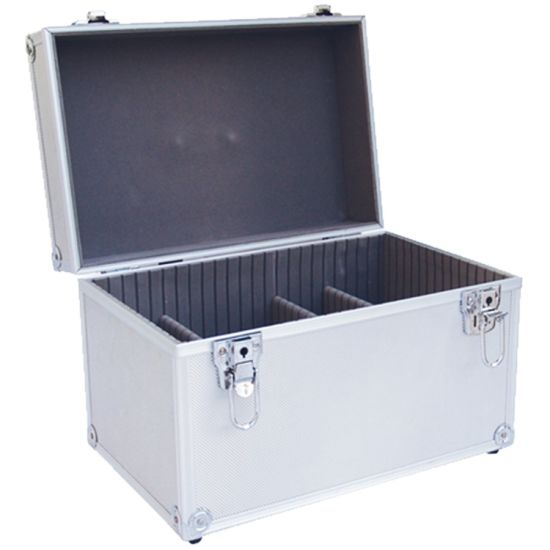 Custom Size Sturdy Aluminum Case with Detachable Dividers
