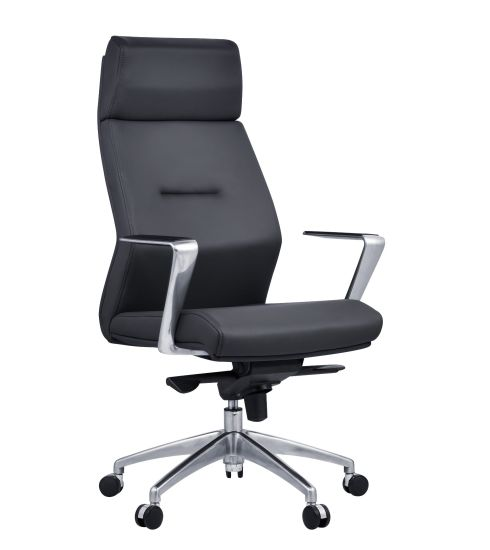 High Back Leather Executive Ergonomic Boss Office Chair