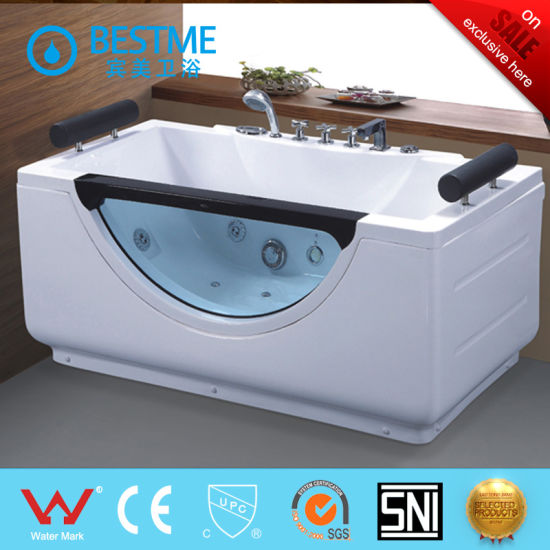China Small Size Single Person Massage Bathtub Jacuzzi Bt 311