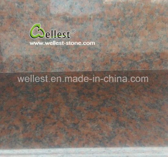 China Quarry Owner G562 Maple Red Polish Granite Tile For Wall Floor