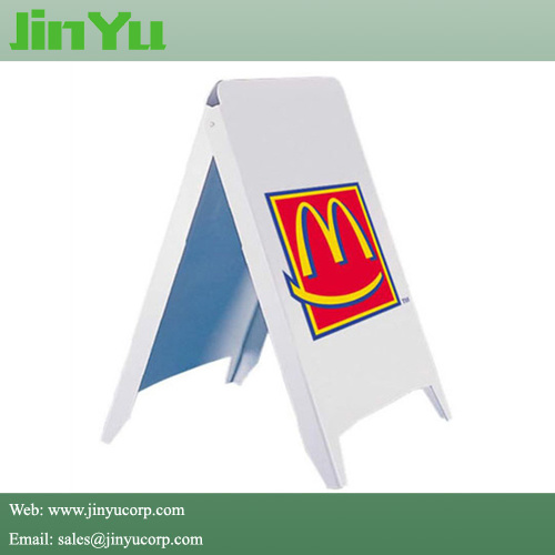 60*90cm Plastic a-Frame Sidewalk Sign Stands pictures & photos