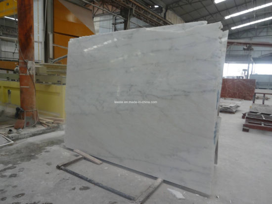 Chinese Polished Calacatta Oro/Royal/Snow/Statuario/Arabescato/Statuary White Marble Stone Slab Marble Flooring Tile/Countertop/Hotel pictures & photos