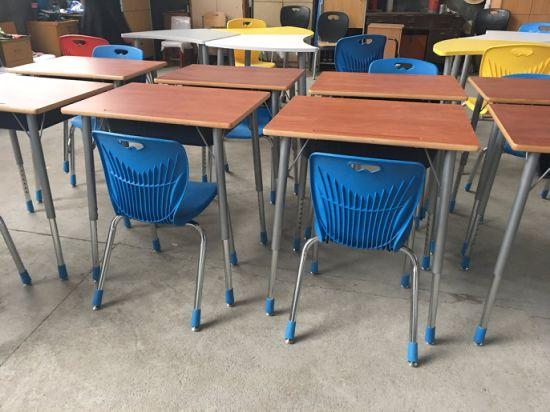 hot sale new style classroom furniture student adjustable school desk chair school desk in classroom81 classroom