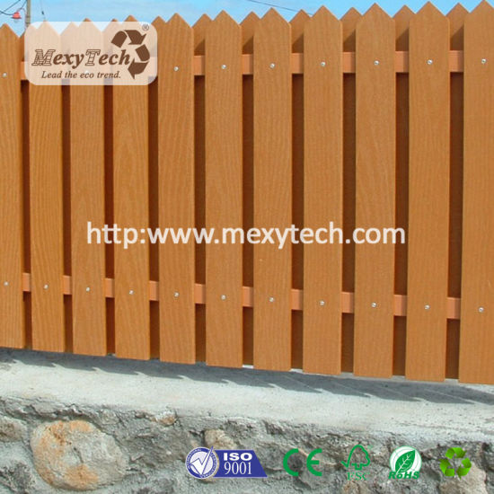 Horizontal Design Fence with Full Trills Grill Mecofence Sets pictures & photos