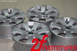 CNC Machining Wheel Model Metal Parts with Nice Finish and Competitive Price