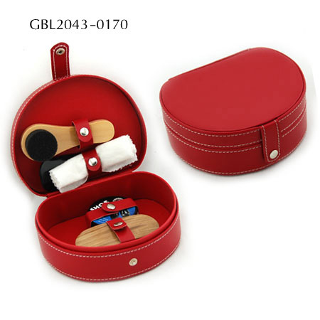 Elegant Leather Lipstick Case PU Leather Makeup Hard Case Gift Leather Box pictures & photos