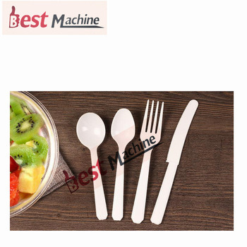 China Automatic Plastic Spoon Knife Fork Injection Moulding