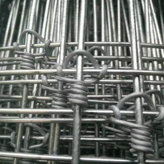 China Galvanized Hinge Joint Field Fence/Cattle Fence/Farm Fence