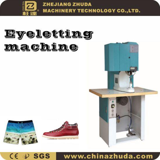 Automatic Mountaineering Button Fastening Machine (Eyelet Machine)