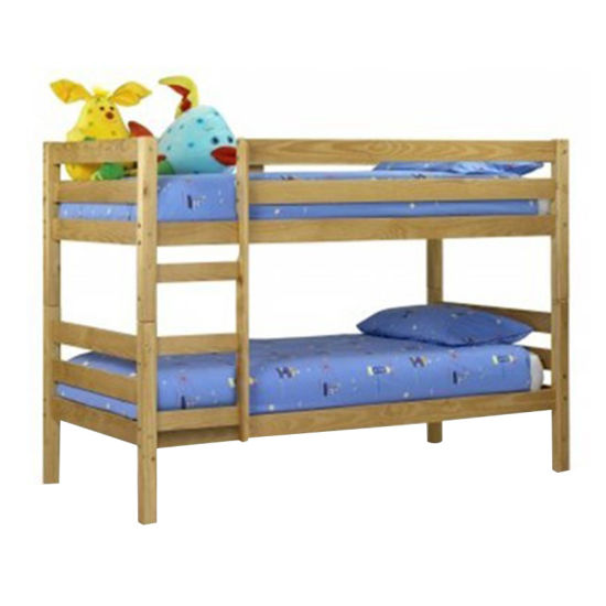 Home Furniture Cheap Used Pine Wood Kids Bunk Beds For Sale