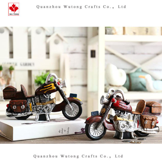 Model Motorcycle Coin Bank for Home Decoration and Collection pictures & photos