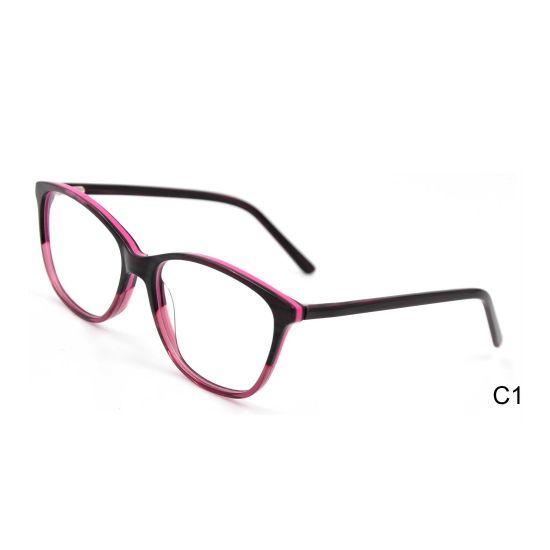 China Wholesale Eye Glasses Optical Glasses Frame Acetate Optical Frames Manufacturers