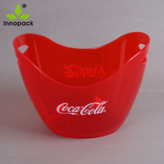 3.5liter Boat Shape Double Wall PS Ice Bucket