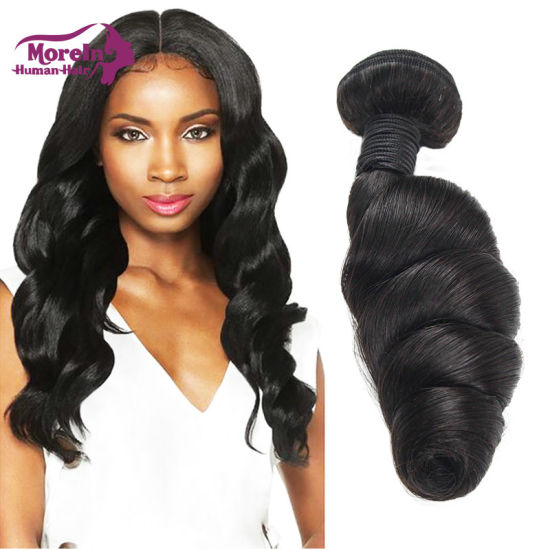 100% Human Hair Virgin Remy Brazilian Hair Extension pictures & photos