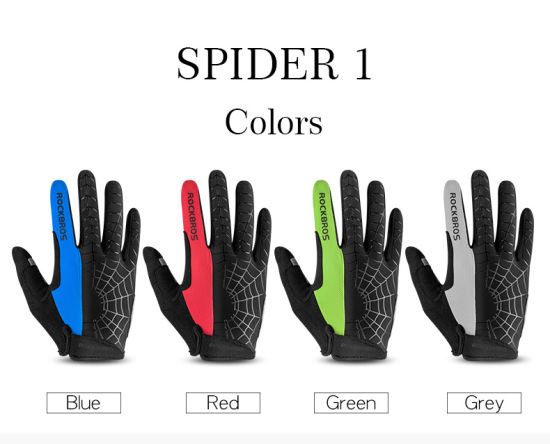 Full Finger Windproof Cycling Gloves Riding Bicycle Gloves for Men Women Bike