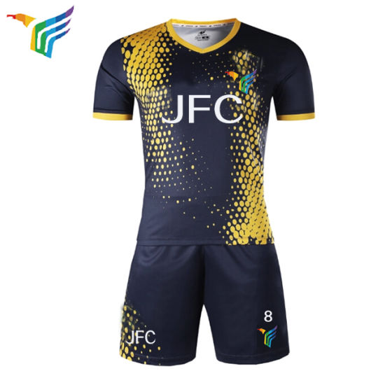 cfeb1f2030b Wholesale Guangzhou Thailand Quality Sublimation Print Soccer Jersey for Men