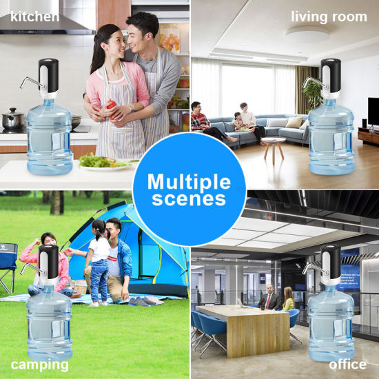 Rechargeable Easy Use Automatic Bottled Water Pump with Inside Battery Wd03