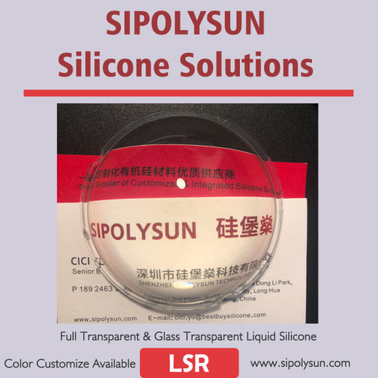 Water-Like Transparent Liquid Silicone Rubber LSR Super Transparent
