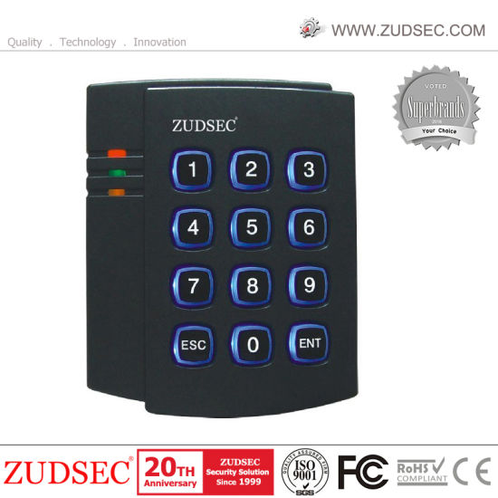 Standalone RFID Door Access Control with Blue Backlight