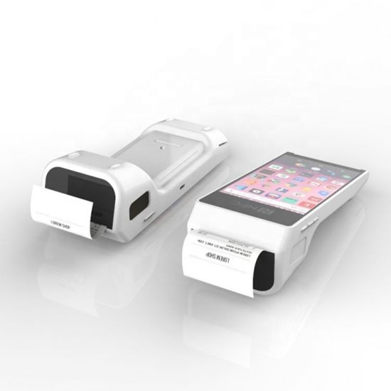 China PT50 Mobile NFC Payment POS Scanner Machine Card