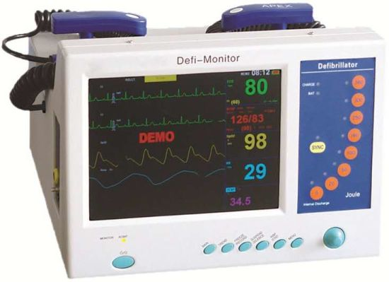 Emergency Monophasic Medical Defibrillator Monitor Mcs-De10