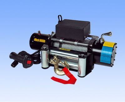 9000lbs 4WD Winch High Performance 12VDC Ce