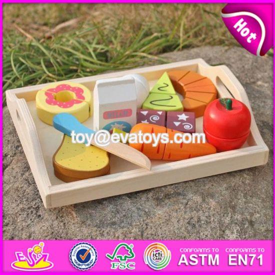 Wholesale Preschool Food Set Toys Wooden Kids Play Food New Design Wooden Kids Play Food W10b184