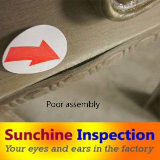 Furniture Quality Control / Sunchine Inspection Third Party Inspection Company pictures & photos