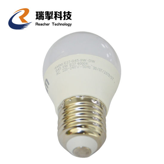 Reacher Popular Current Brand Environment Protecting High Quality Affordable Price 3W 5W 7W 10W 12W 15W 18W 20W 24W Plastic and Alumium LED Bulb, Aluminum LED