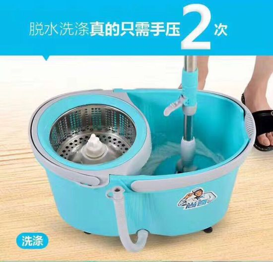 Spin Bucket Wringer Durable Mop pictures & photos