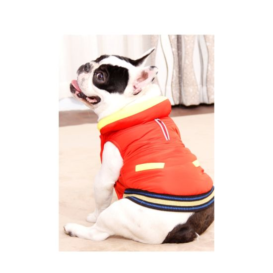 Wholesale Pet Supplier Dog Clothes Winter Dogs Coat (YJ98975)