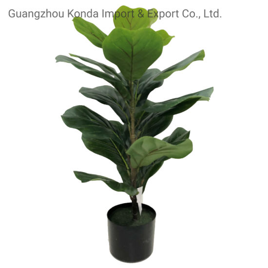 Factory Supplier High Quality Plants Cheap Leaves Artificial Fiddle Trees